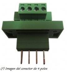 Conector 4 Polos con Tornillo de Seguridad