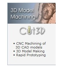 Cut 3D Model Machining