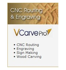 VCarve Pro V8.0 - CNC Routing & Engraving