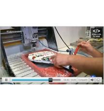 Akkeron Sport  en TVE-1 (Fabricación Palas de Pádel)