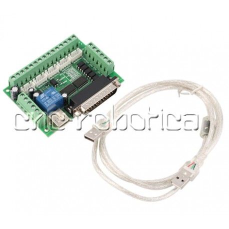 Interface + Driver 3 ejes