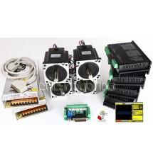 Kit 4 Motores + Drivers 50KG