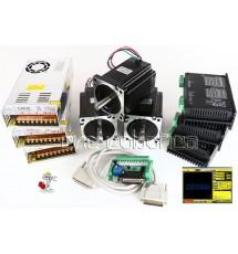 Kit 3 Motores + Drivers 90KG