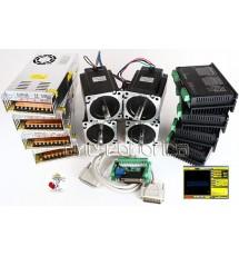 Kit 4 Motores + Drivers 90KG