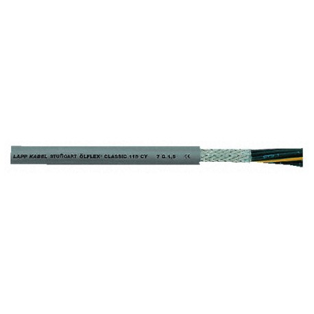 Cable Manguera 4 x 1 mm 10 A.