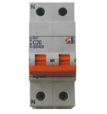 Doble Interruptor Luminoso 16A/250V.