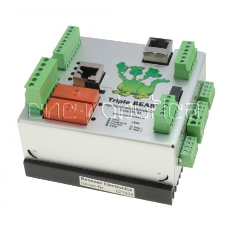 Interface 3 ejes + Drivers + Software 1,4 a 5 Amp