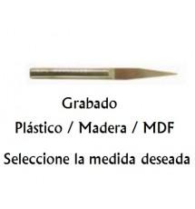 Fresa Grabado Plast./Madera/MDF 15-03