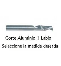 Fresa Corte Aluminio de 10 mm (1L)