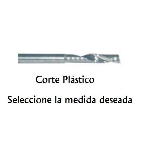 Fresa Corte Plástico de 10 mm (1L)