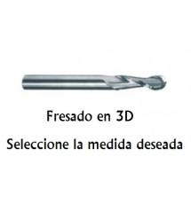 Fresado 3D (2L) de 8 mm